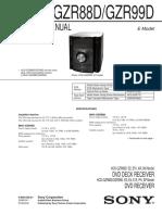 SONY  AUDIO    HCD-GZR88D_GZR99D