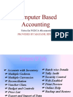 Computer based accounting in hindi