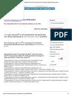 Aloe gel viscoso® en el tratamiento de pacientes con úlcera duodenal y Helicobacter pylori positivo