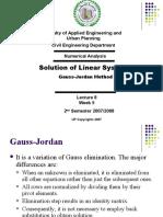 Lecture 8 - Gauss-Jordan