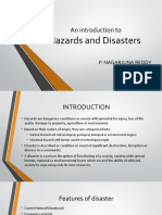 An introduction to Hazards and Disasters