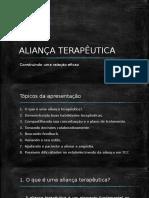 ALIANÇA TERAPÊUTICA
