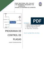 programa de control de plagas-Higiene y seg. industrial