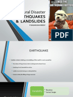 Earthqaukes and Landslides