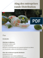 Le Marketing Des Entreprises de Grande Distribution 1