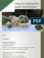 Le Marketing Des Entreprises de Grande Distribution 1