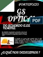 Portafolio de Servicios GS OPTICAL