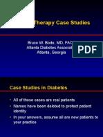 Insulin Case Studies AACE 5-20-05