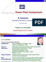 corr of power plant components