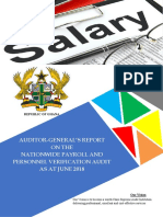 Report on Nationwide Payroll
