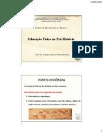 Educação Física na Pré-História