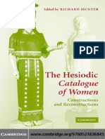 Richard Hunter-The Hesiodic Catalogue of Women_ Constructions and Reconstructions-Cambridge University Press (2005)