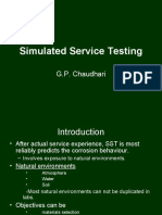 Simulated Service Testng