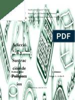 Adición y Sustracción en Polinomios