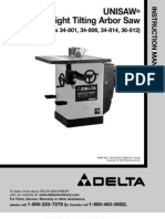 Delta 36-812 Manual and Schematic