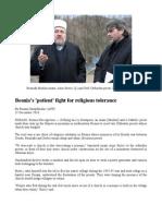 Bosniaks (Bosnian Muslims) Preach Religious Tolerance