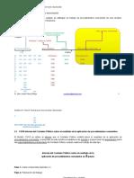 aplicación de procedimientos convenidos en 5 pasos