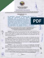 ord85-2013 ratify omnibus term loan 395 million