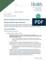 Childcare in Oregon