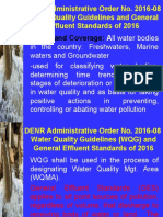 DAO 2016-08 Water Quality Guidelins and General Effluent Standards .ppt