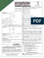 Apostila de PA (5 páginas e 44 questões, com gabarito)
