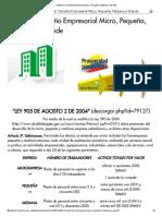 Definición Tamaño Empresarial Micro, Pequeña, Mediana o Grande.pdf