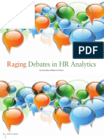 Raging Debates In HR Analytics