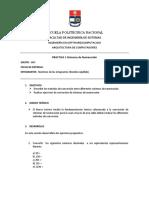 practica 1 Sistemas de Numeracion