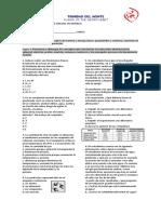 EVALUACION BIMESTRAL ENFASIS 2012-2013