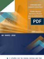 Comunicado Socios ASEI Reactivación Inmobiliaria 08-05-20