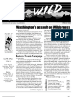 Spring 2003 Friends of Nevada Wilderness Newsletter