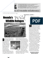 Summer 2009 Friends of Nevada Wilderness Newsletter