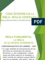 COMO INTERPRETAR LA BIBLIA - Reglas Básicas.pptx