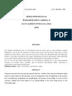 Artículo Científico de Redes Informáticos