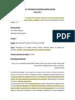 Teórico N° 2 Psicología en el Ambito Juridico Forense