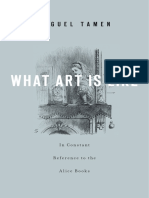 Miguel Tamen - What Art Is Like, In Constant Reference to the Alice Books-Harvard University Press (2012)
