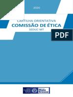 Cartilha Comissão de Ã_tica 2020