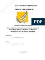 Vider Ramirez Huaycho Proyecto Diseño Geometrico de Carretera