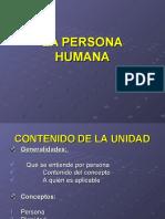 El concepto de persona Humana 2.0