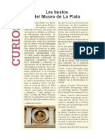 Bustos del Museo de La Plata