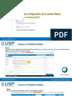 Curso WEBEX para docentes USP 2020