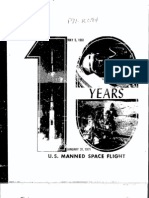 10 Years US Manned Space Flight