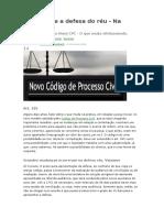 Novo CPC e a defesa do réu.docx