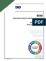 TOLEDO INDICADOR GRÁFICO DIGITAL E ANALÓGICO MANUAL DE OPERAÇÃO INSTALAÇÃO E MANUTENÇÃO MOIM-8540 GRÁFICO RE_.pdf