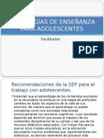 Presentación Estrategías de Enseñanza para Adolescentes.pptx