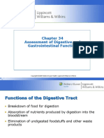 Assess of Digestive and GI Function Ch 34