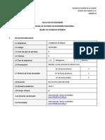 Silabo 2020-I COMERCIO EXTERIOR A