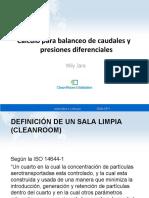 Calculo para balanceo de caudales y presiones diferenciales