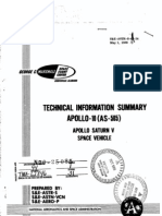 Apollo 10 as-505 Apollo Saturn 5 Space Vehicle Technical Information Summary