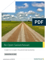 Re-Open Saskatchewan Plan May 14